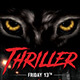 Thriller Flyer Template - GraphicRiver Item for Sale