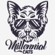 Millennial Cats T-Shirt - GraphicRiver Item for Sale