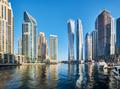 Dubai marina skyline in United Arab Emirates - PhotoDune Item for Sale