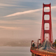 Golden Gate Bridge view at sunrise, San Francisco - PhotoDune Item for Sale