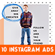 Instagram Fashion Banner #16 - GraphicRiver Item for Sale