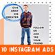 Instagram Fashion Banner #16 - GraphicRiver Item for Sale