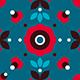 12 Floral Folk Patterns - GraphicRiver Item for Sale