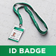 Lanyard / ID Card Holder MockUp - GraphicRiver Item for Sale