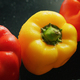 Ripe red and yellow peppers - PhotoDune Item for Sale