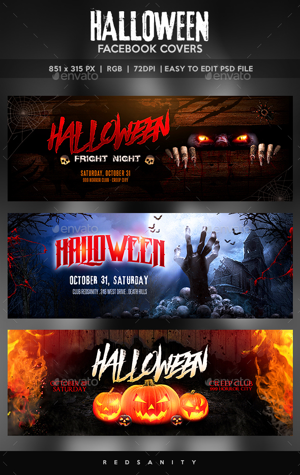 Halloween Facebook Covers - Facebook Timeline Covers Social Media