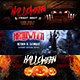 Halloween Facebook Covers - GraphicRiver Item for Sale
