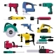 Power Tools Vector - GraphicRiver Item for Sale