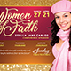 Women of Faith Flyer - GraphicRiver Item for Sale