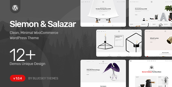Siemon & Salazar - Clean, Minimal WooCommerce Theme - WooCommerce eCommerce