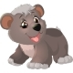 Baby Bear Cartoon - GraphicRiver Item for Sale