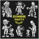 Zombie Comic Set - Cartoon Zombie. - GraphicRiver Item for Sale