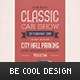 Classic Car Show Flyer/Poster - GraphicRiver Item for Sale