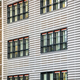 Modern office building with corrugated pattern - PhotoDune Item for Sale