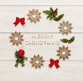 Merry christmas greeting, decoration background - PhotoDune Item for Sale