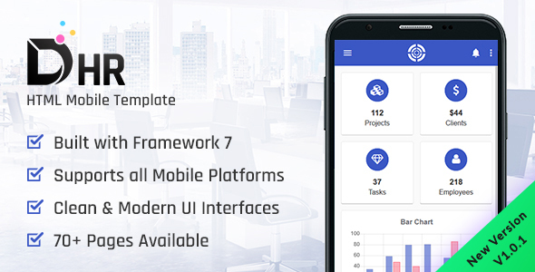DHR - HTML Mobile Template - Mobile Site Templates