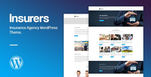 Insurers - Insurance Agency WordPress Theme - Business Corporate