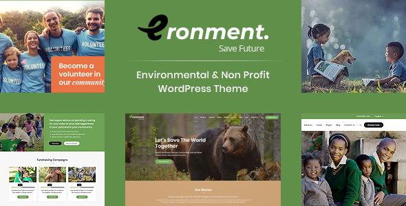 Eronment - Environment / Non-Profit HTML Template - Environmental Nonprofit