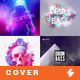 Electronic Music Album Cover Artwork Templates Bundle 5 - GraphicRiver Item for Sale