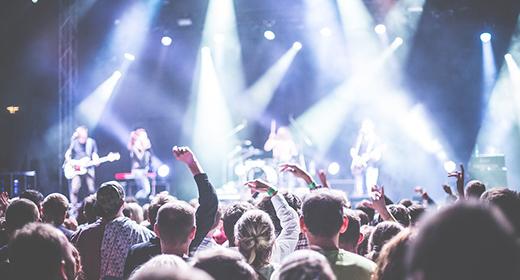 En İyi Müzik Grupları ve Etkinlikler WordPress Temaları