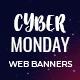 Cyber Monday Sales Multipurpose Web Banners Set - GraphicRiver Item for Sale