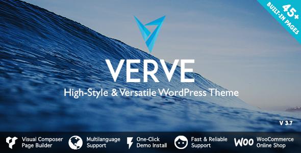 Verve - High-Style WordPress Theme