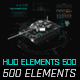 Hud Elements Pack - VideoHive Item for Sale