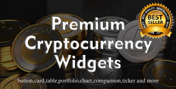 Premium Cryptocurrency Widgets   JavaScript Crypto Plugin - CodeCanyon Item for Sale