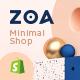 Zoa - Minimalist Shopify Theme - ThemeForest Item for Sale