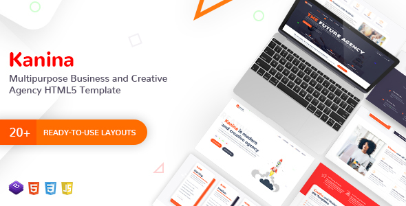 Kanina - Multipurpose Business and Creative Digital Marketing Agency HTML Template - Corporate Site Templates