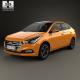 Hyundai Verna (Accent) 2017 - 3DOcean Item for Sale