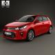 Kia Rio 5-door hatchback 2017 - 3DOcean Item for Sale