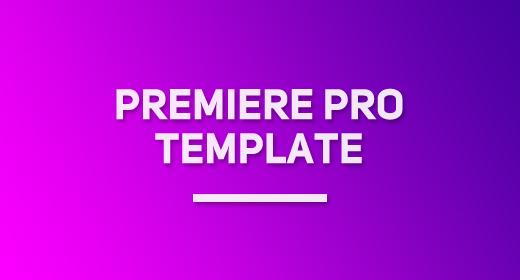 Premiere Pro Template