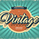 Vintage Text Effects - GraphicRiver Item for Sale