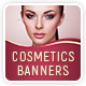 Cosmetics Banners - GraphicRiver Item for Sale
