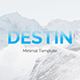 Destin Creative Powerpoint Template - GraphicRiver Item for Sale