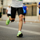 legs male runner running street city - PhotoDune Item for Sale