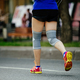 woman runner with knee pads - PhotoDune Item for Sale