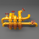 PBR Industrial Pipes Large - 3DOcean Item for Sale