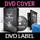 Wedding DVD Cover and DVD Label Template Vol.12 - GraphicRiver Item for Sale