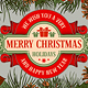 Merry Christmas Greeting - GraphicRiver Item for Sale