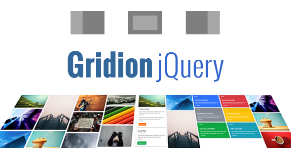 Gridion jQuery - Responsive Bootstrap Grid Gallery - CodeCanyon Item for Sale