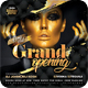 Grand Opening Party Flyer - GraphicRiver Item for Sale