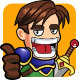 Human Knight Warrior - Fantasy Game Character - GraphicRiver Item for Sale