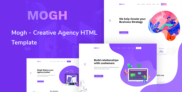 Mogh - Creative Agency HTML Template