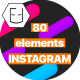 Instagram smm pack - VideoHive Item for Sale