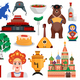 Russia Travel Set - GraphicRiver Item for Sale