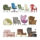 Chair Vectors - GraphicRiver Item for Sale