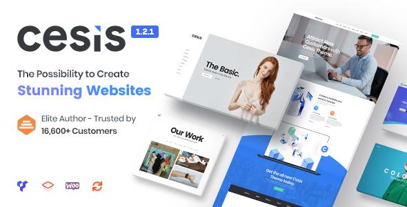Cesis | Responsive Multi-Purpose WordPress Theme - Business Corporate