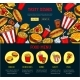 Vector Landing Page for Fast Food Restaurant Site - GraphicRiver Item for Sale